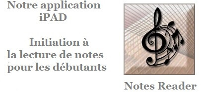 application iPAD solfege lecture de notes